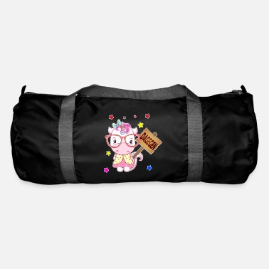 Contrast In contrast unicorn - Duffle Bag