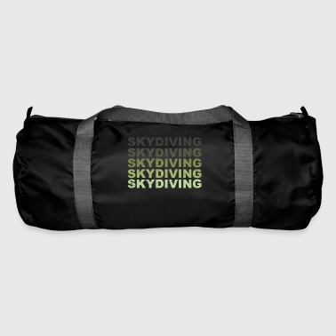 Skyrim Skydiving grunge - Duffel Bag