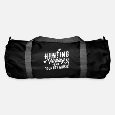 Chasse Chasse Pêche et musique country - Sac de sport