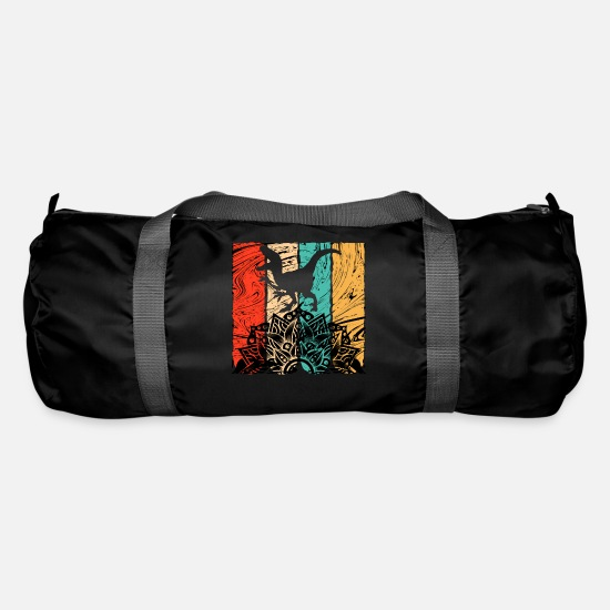 Carnivores Bags & Backpacks - Vintage SPEAKER - Duffle Bag black