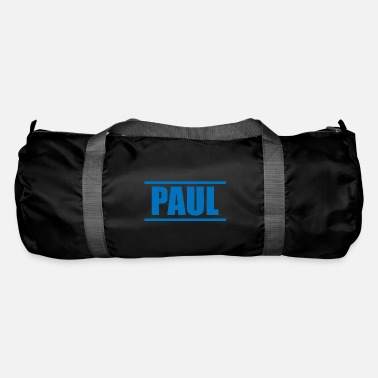 Presenteren Presenteer je voornaam - Paul! - Sporttas