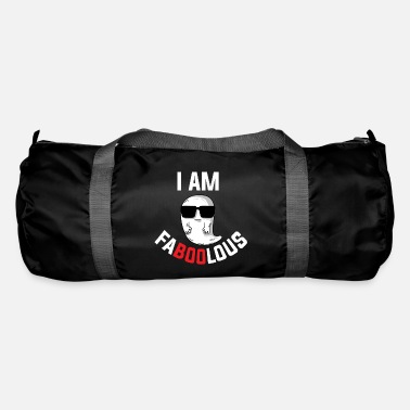 Halloween Clothes I Am Faboolous Ghost Halloween Night Costume Party - Duffle Bag