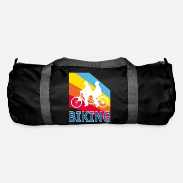 Pop Retro Vintage Pop Art Tandem Bicycle Cycling - Bolsa de deporte