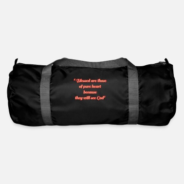 Bible phrases de la bible - Sac de sport