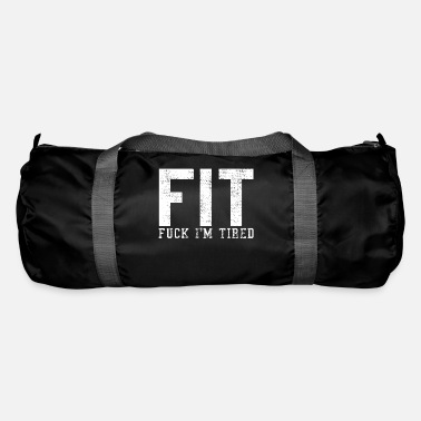 Fitness Fit fitness joke - Duffle Bag