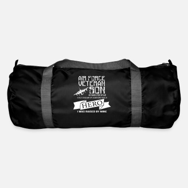 Airforce airforce veteran son Hero - Duffle Bag