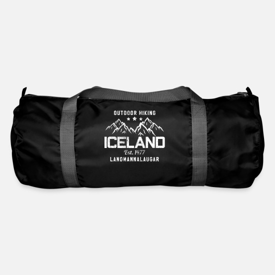 Iceland Bags & Backpacks - Iceland - Duffle Bag black