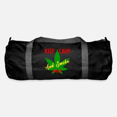 Weed Keep calm and smoke weed - Duffle Bag