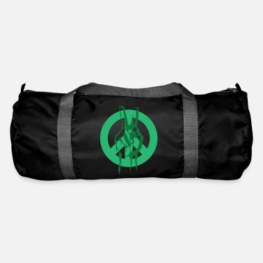 Peace Peace Peace Peace Sign - Duffle Bag