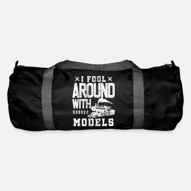 Training Model train train trains - Duffle Bag