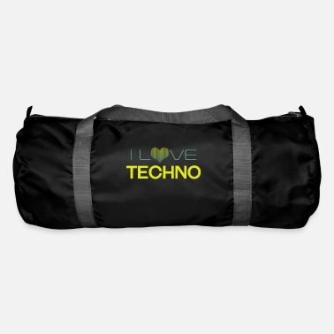 I Love Techno I Love Techno - Duffle Bag