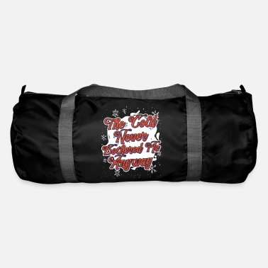 Winter Cold weather winter holiday gift - Duffle Bag