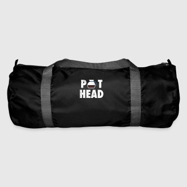 Pot Head Pot Head Coffee Pot Caffeine Vintage Coffee lovers - Duffel Bag
