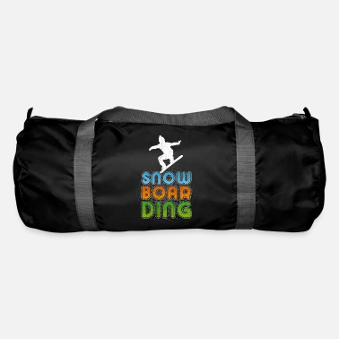 Snowboard Cool Snowboarder Freestyle Party Winter Gift - Borsa sportiva