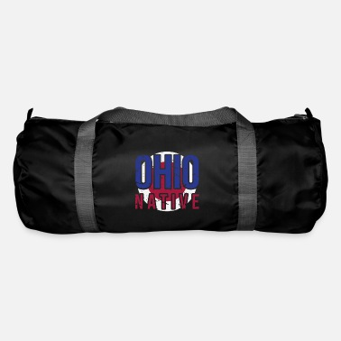 4048d74afa2b OH Ohio Native Gift for Home State Pride Duffle Bag