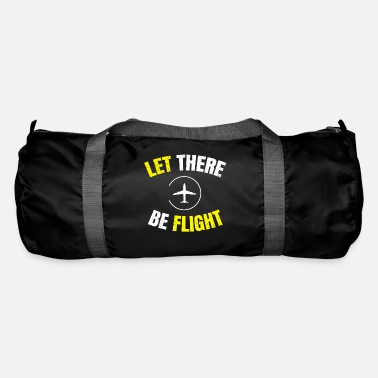 Aeroplane Let There Be Flight AeroPlane Funny - Duffle Bag