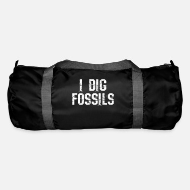 Fossil Fossil excavation fossilized - Duffel Bag
