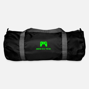 Online Addicted Video Gamer Online Console Gaming - Sac de sport