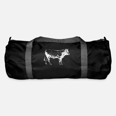 Butcher Beef cow meat butcher butcher - Duffle Bag