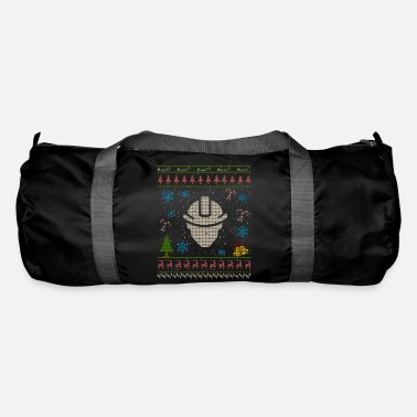 Oil Rig Oilworker Wife Oil Rig Oilfield Christmas Ugly - Duffel Bag