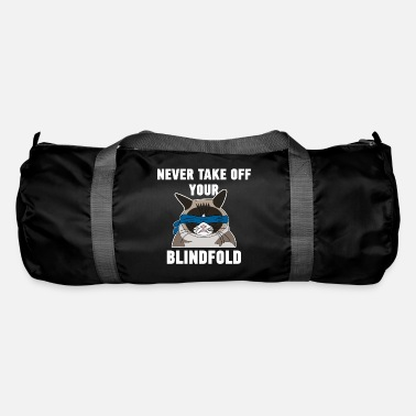 Blindfold blindfold blindfold cat hangover movie gift fan - Duffle Bag