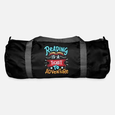 Read Read reading - Duffle Bag
