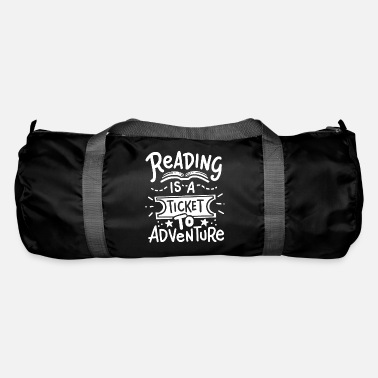 Read Read Read Read - Duffle Bag
