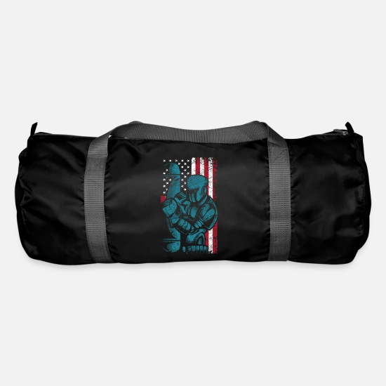 Patriot Bags & Backpacks - America boxing - Duffle Bag black