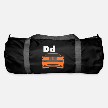 Car Alphabet D - Duffle Bag