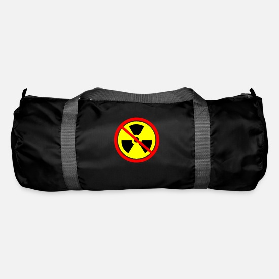 Beaver Bags & Backpacks - Anti nuclear power Castor nuclear power plants Gorleben demo - Duffle Bag black