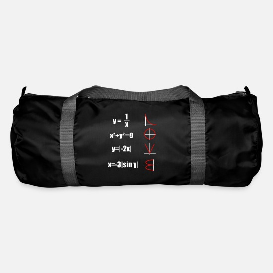 Teacher Bags & Backpacks - mathematician - Duffle Bag black