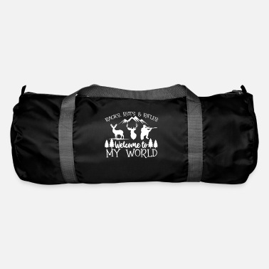 Hunting Hunt Hunter Wild Forest Hunt Deer Nature Gift - Duffle Bag