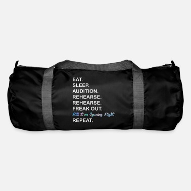 Clapperboard COOL EAT SLEEP AUDITION REHEARSE REPEAT MUSICAL - Duffle Bag