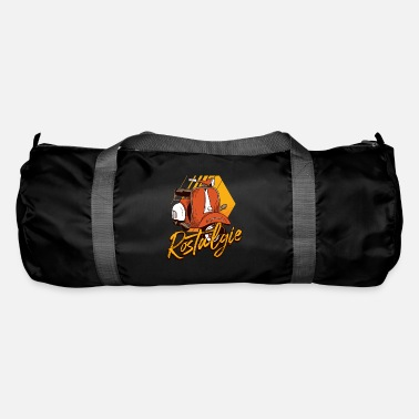 Moped Rusty moped moped driver moped - Duffle Bag