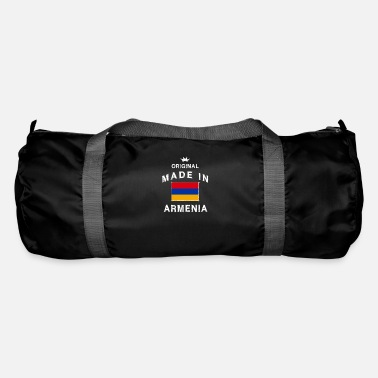 Caucasus Made in Armenia Armenian flag flag - Duffle Bag