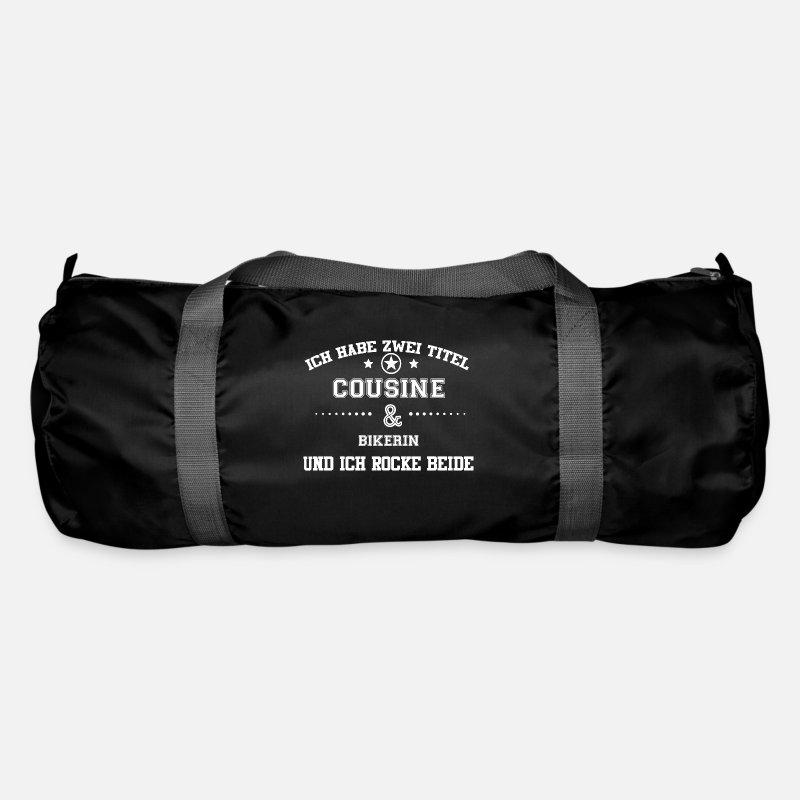 Geschenk Habe Cousine Familie In Bikerin Sporttasche Spreadshirt