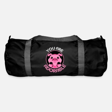Stand Pig sow piggy pig piglet boar - Duffle Bag