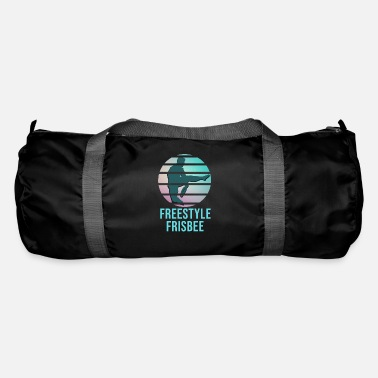 Freestyle Frisbee Freestyle Sport Game Gift Idea - Duffle Bag
