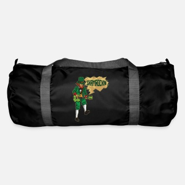 Eguitar EGuitar Playing Leprechaun - Shamrockin - Duffle Bag