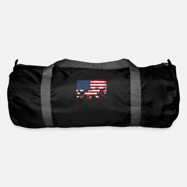 Presenteren Skydive USA Flag Extreme Sports Skydiver - Sporttas