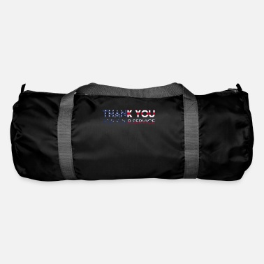 Navy Memorial Day Veteran Army Soldier Navy Thank You - Duffle Bag