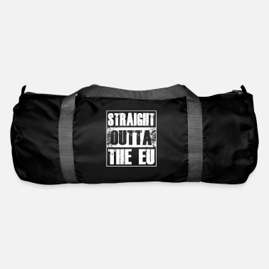 Euro Straight Outta The EU UK Brexit Europe Exit Gift - Sac de sport