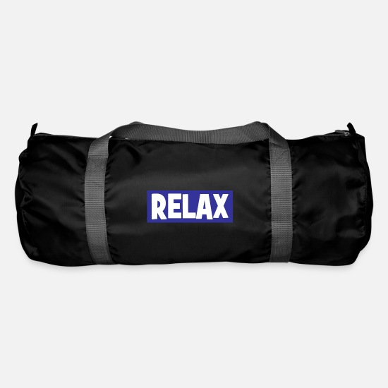 Original Bags & Backpacks - RELAX - relax - relax - chill - chill - Duffle Bag black