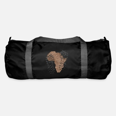 Sole Africa with a footprint - Duffle Bag