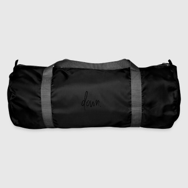 Down Down. - Duffel Bag