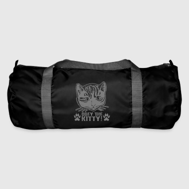 Obey Grappige Obey The Kitty Gift - Sporttas