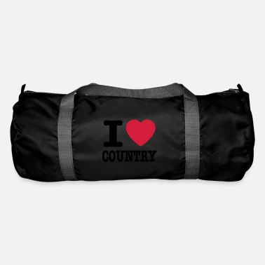 Country i love country / i heart country - Borsa sportiva