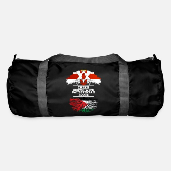 Palestinian Bags & Backpacks - Northern Irish Grown With Palestinian Roots - Duffle Bag black