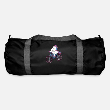 Bike Mountain Bike Riding Unicorn Gift - Duffle Bag