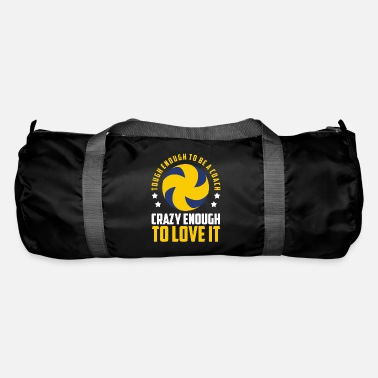 Training Volleyball coach I youth volleyball coach - Duffle Bag